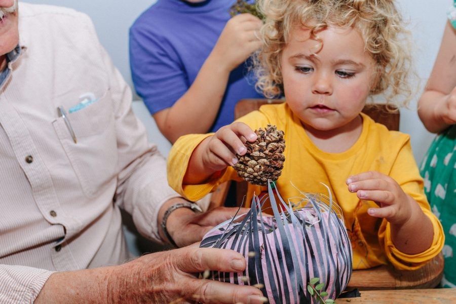 6. Creating with your little ones
